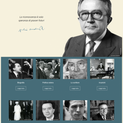 Giulio Andreotti Official Site