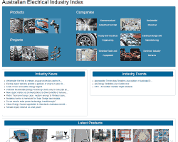 Australian Electrical Industry Index website