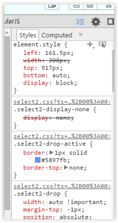 Position of select2 drop down - Flexicontent - FLEXIcontent